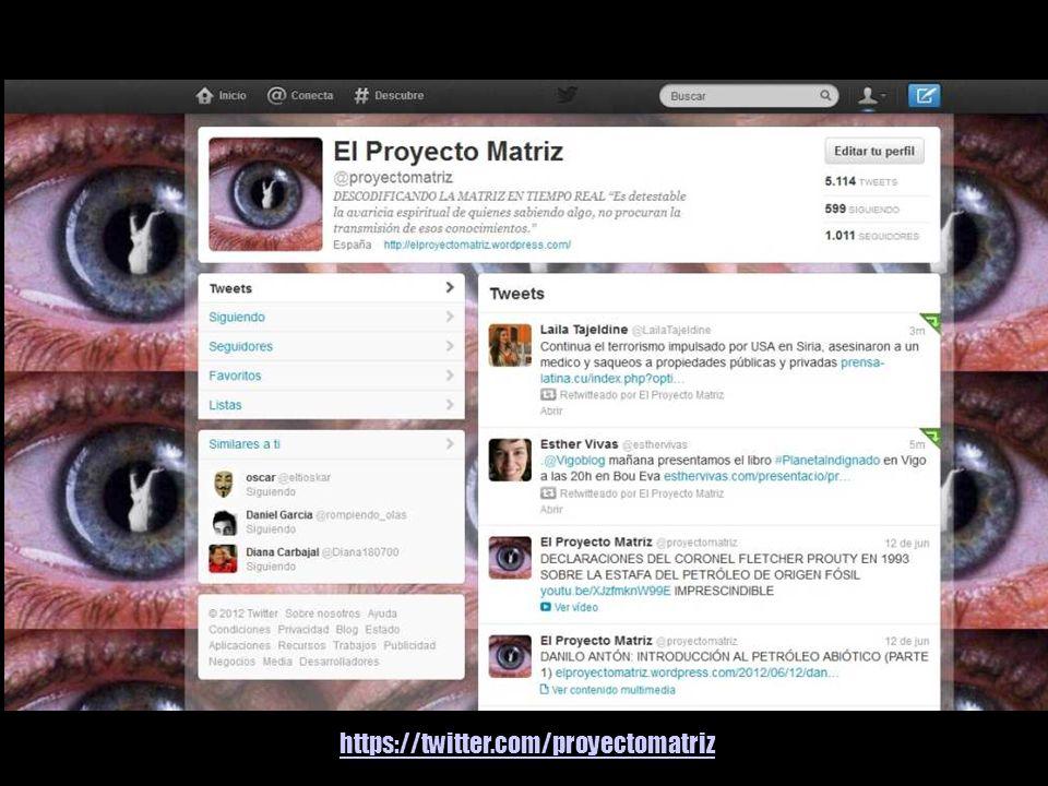 https://twitter.com/proyectomatriz