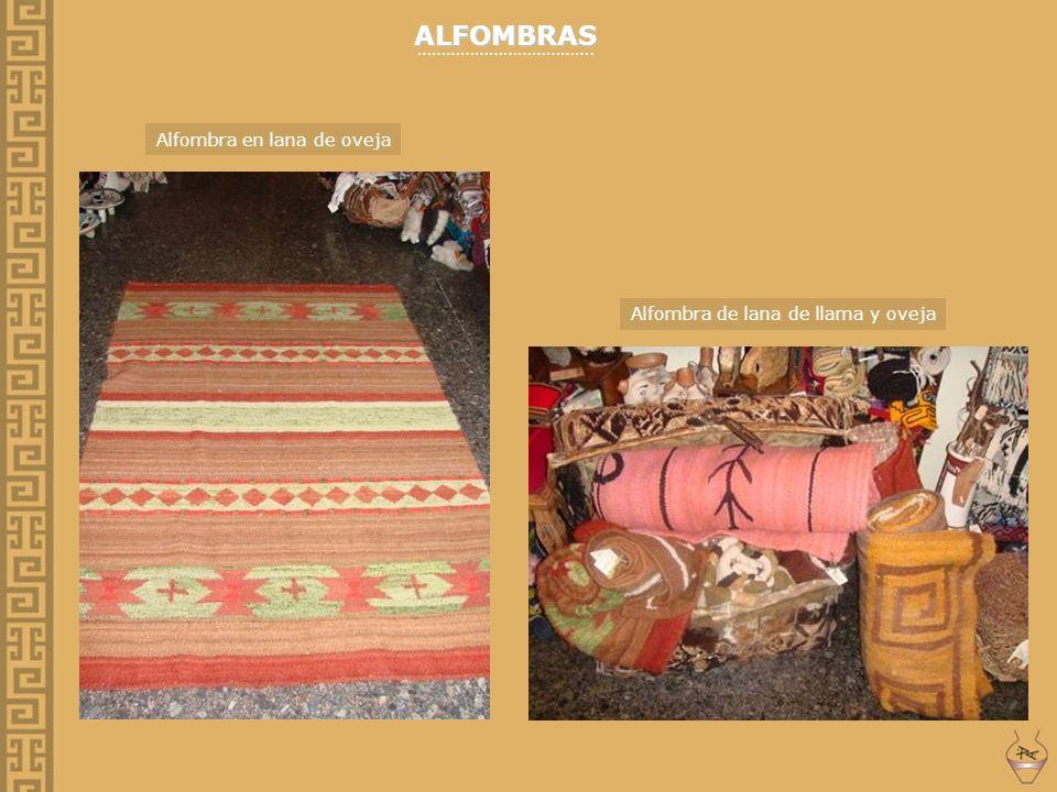 ALFOMBRAS ………………………………. Alfombra en lana de oveja