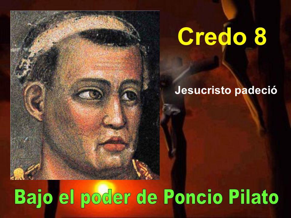 Bajo el poder de Poncio Pilato