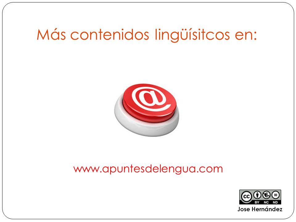Más contenidos lingüísitcos en: