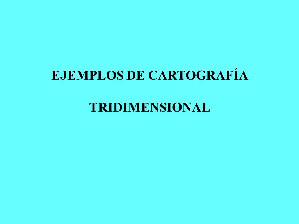 EJEMPLOS DE CARTOGRAFÍA