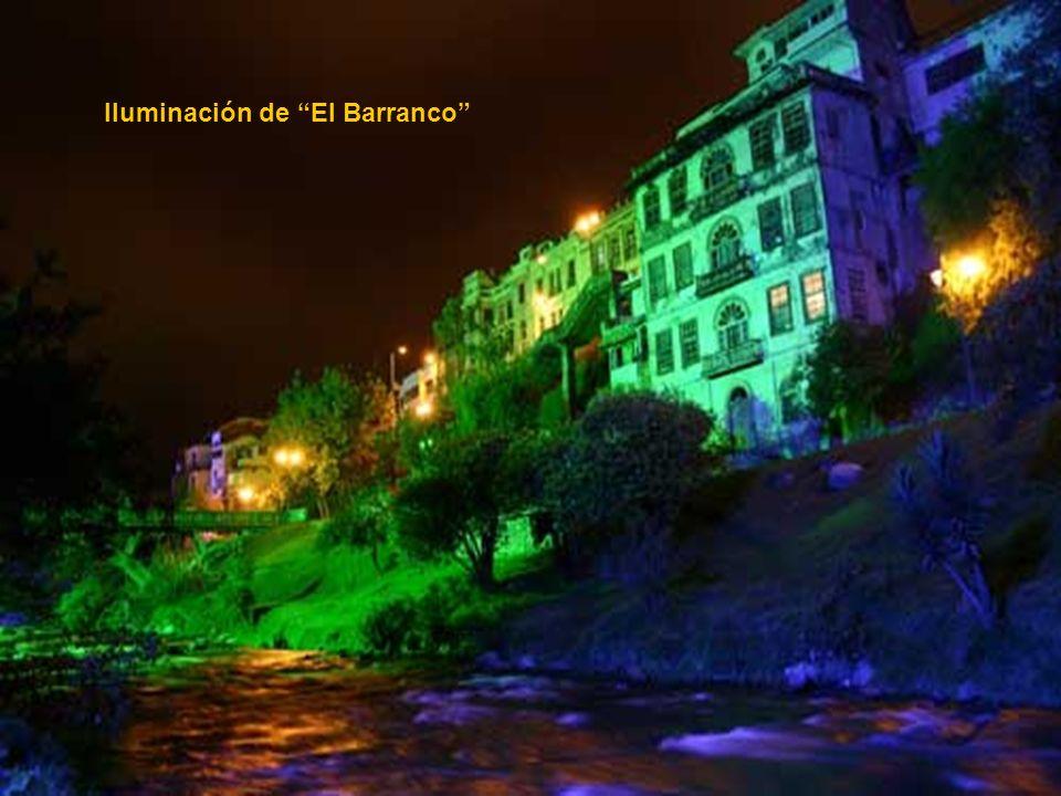 Iluminación de El Barranco