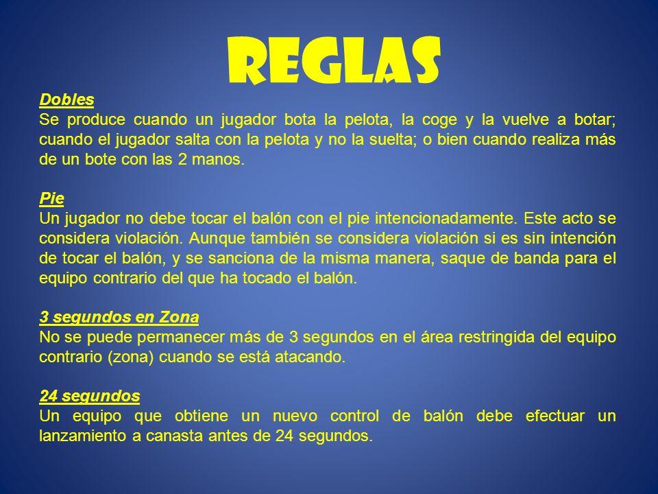 REGLAS Dobles.