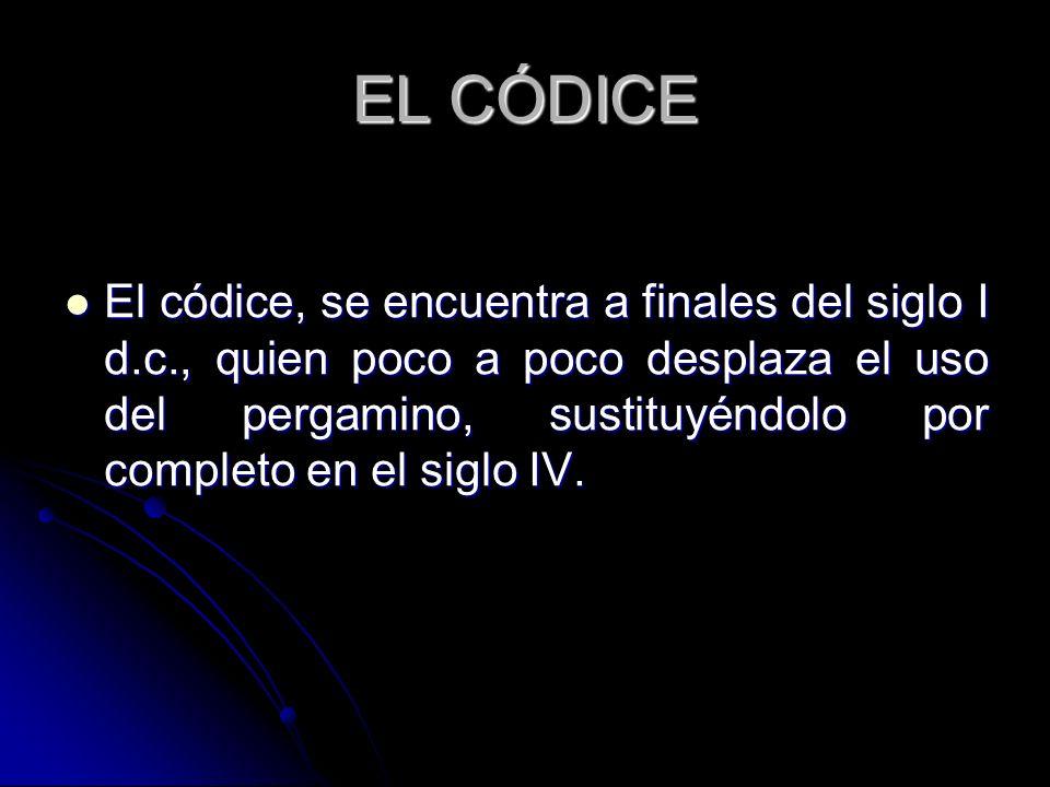EL CÓDICE