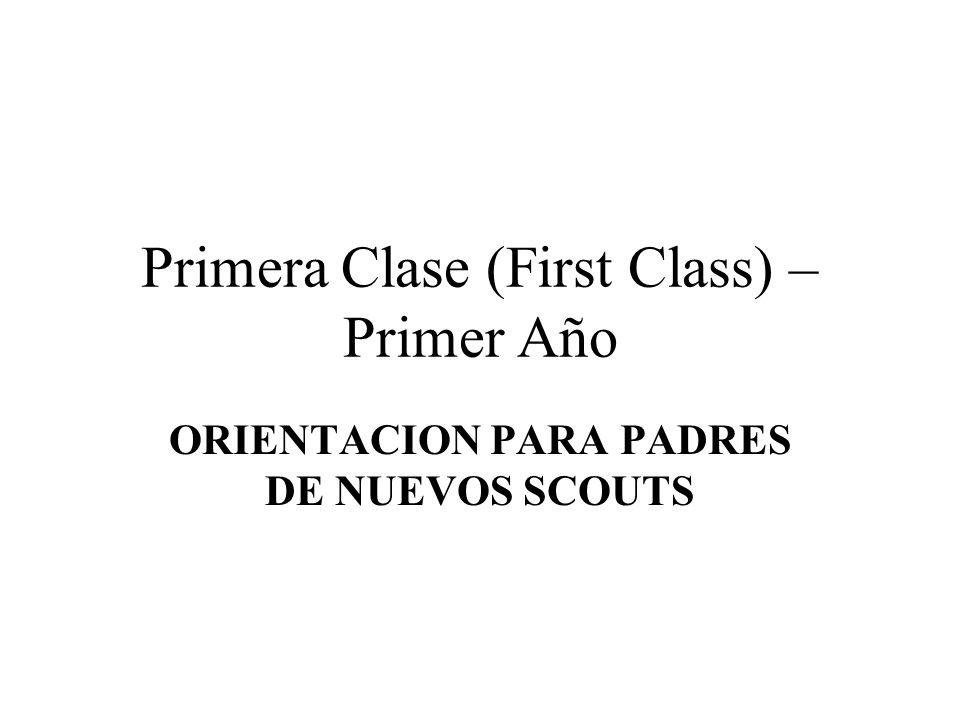 Primera Clase (First Class) – Primer Año