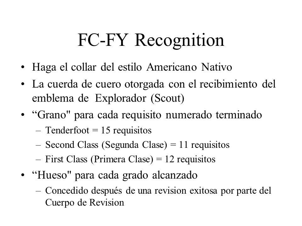 FC-FY Recognition Haga el collar del estilo Americano Nativo