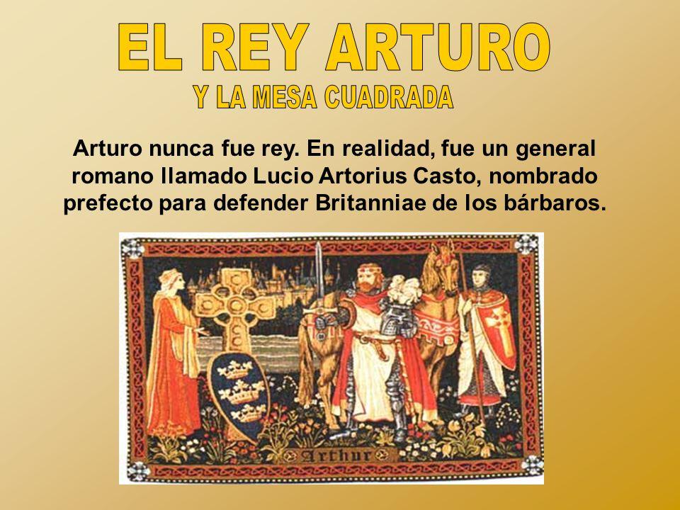EL REY ARTURO Y LA MESA CUADRADA.