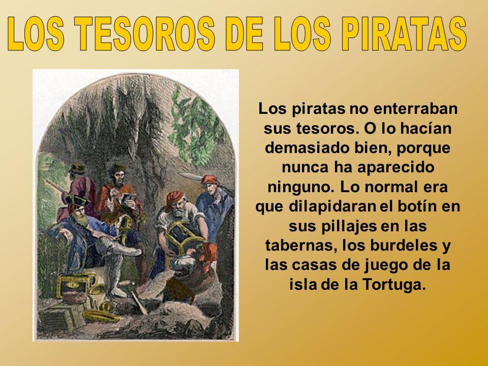 LOS TESOROS DE LOS PIRATAS