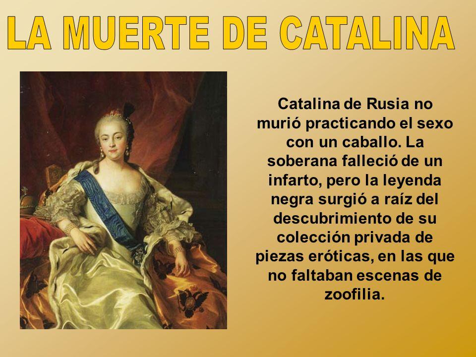 LA MUERTE DE CATALINA