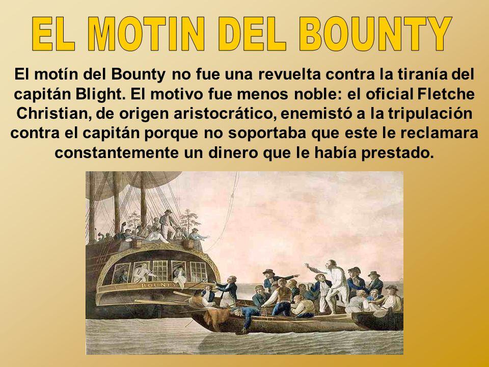 EL MOTIN DEL BOUNTY