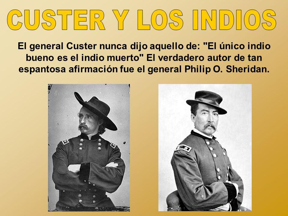 CUSTER Y LOS INDIOS