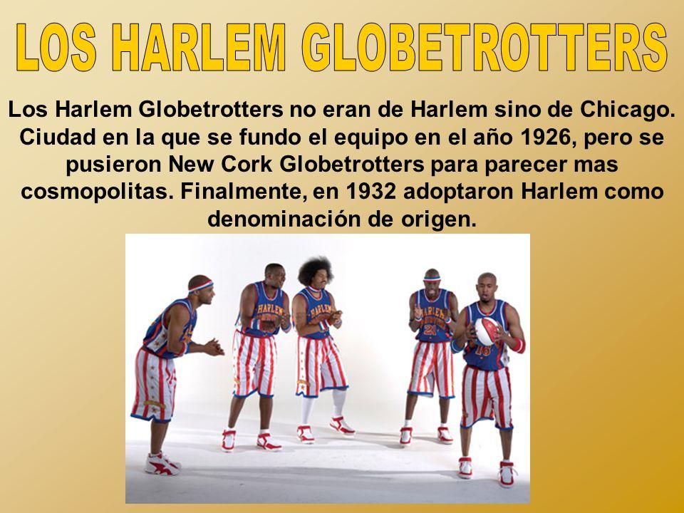 LOS HARLEM GLOBETROTTERS