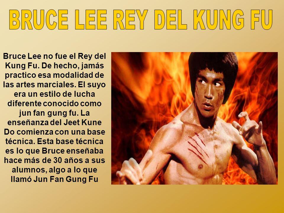 BRUCE LEE REY DEL KUNG FU