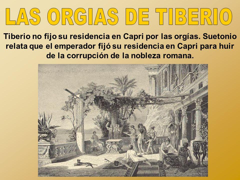 LAS ORGIAS DE TIBERIO