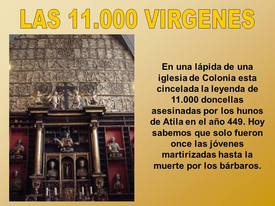 LAS 11.000 VIRGENES