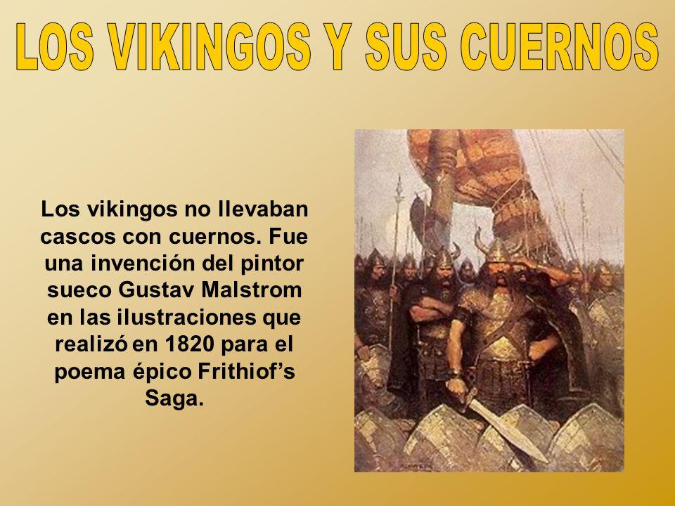 LOS VIKINGOS Y SUS CUERNOS