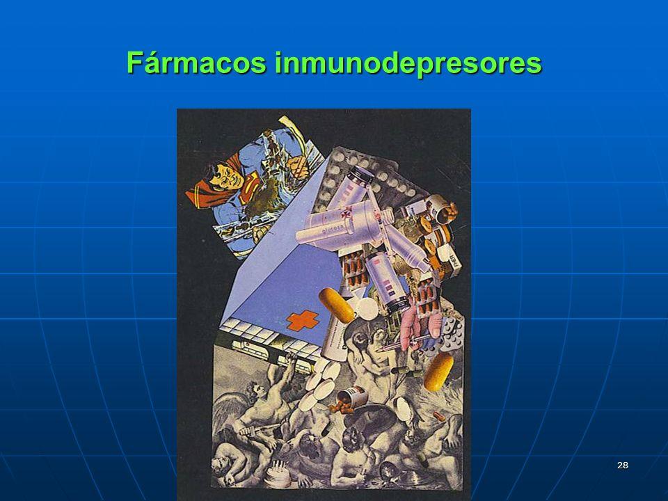 Fármacos inmunodepresores