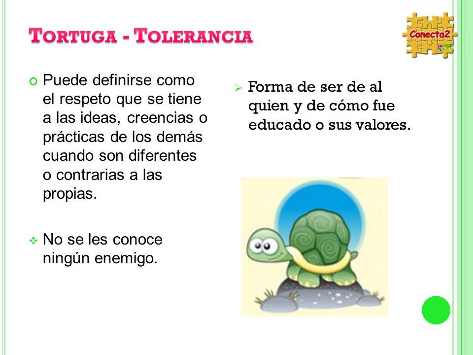Tortuga - Tolerancia