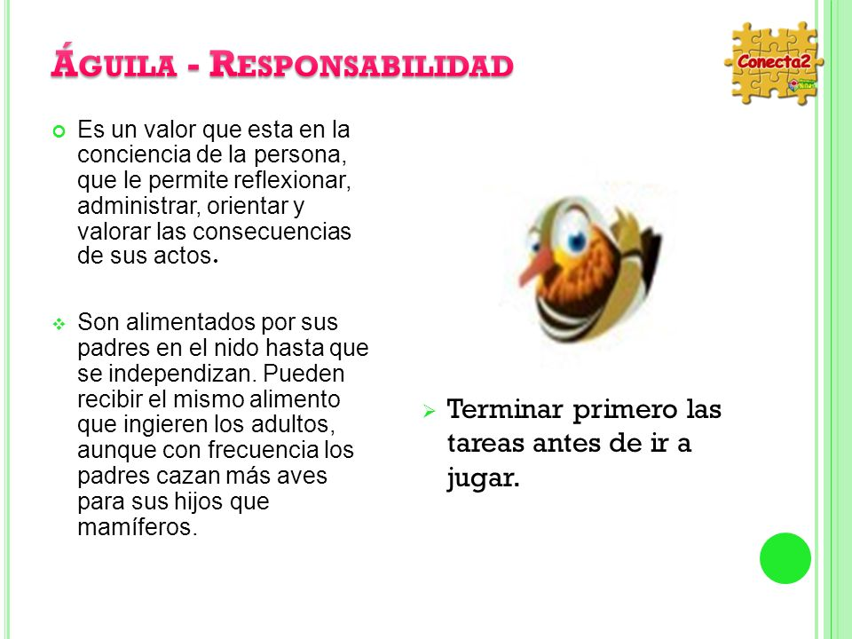 Águila - Responsabilidad
