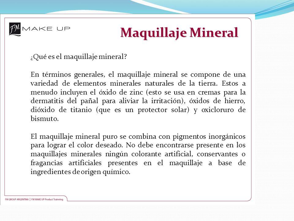 Maquillaje Mineral ¿Qué es el maquillaje mineral
