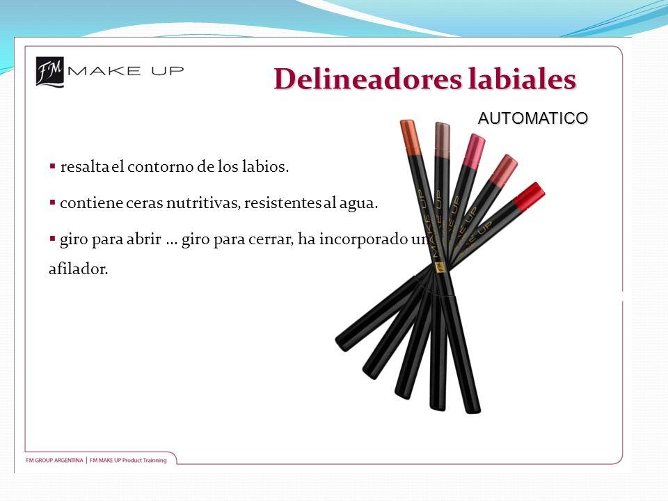 Delineadores labiales