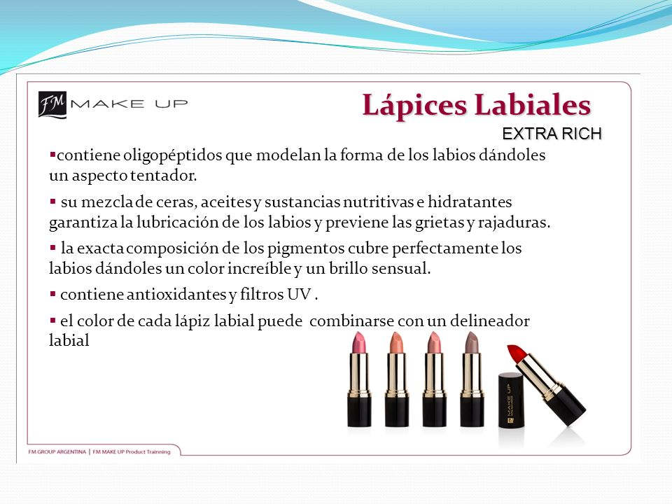 Lápices Labiales EXTRA RICH