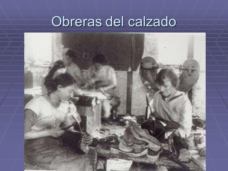 Obreras del calzado