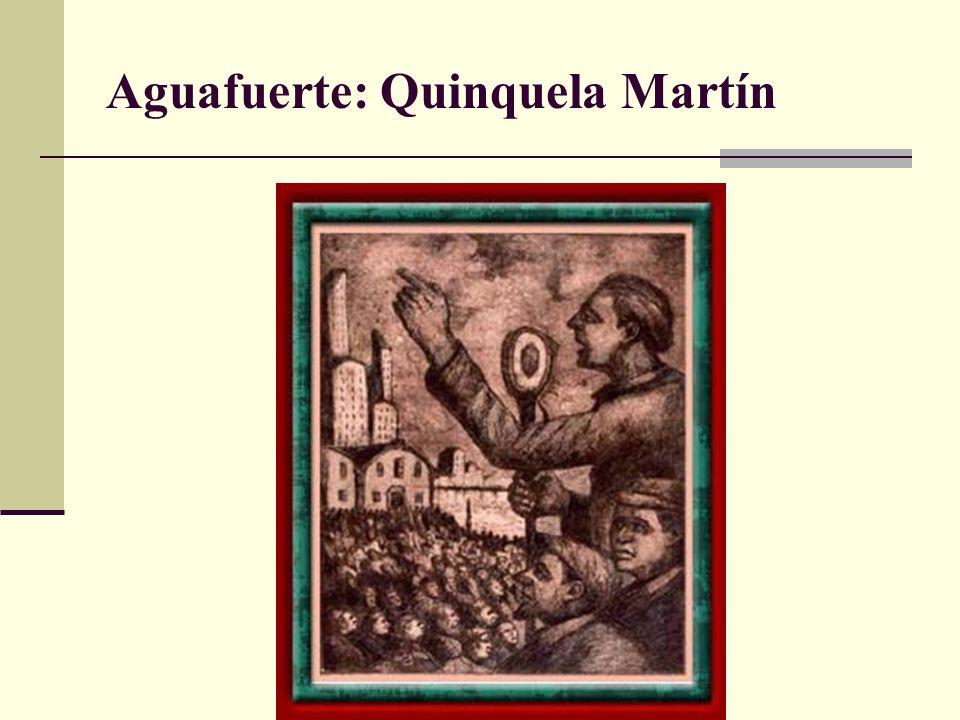 Aguafuerte: Quinquela Martín