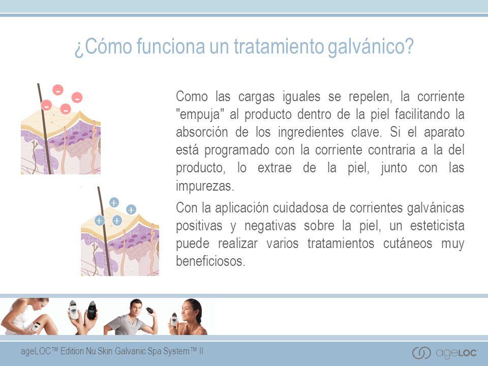 ¿Cómo funciona un tratamiento galvánico