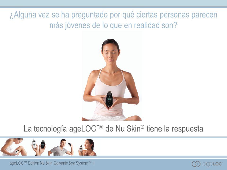 La tecnología ageLOC™ de Nu Skin® tiene la respuesta