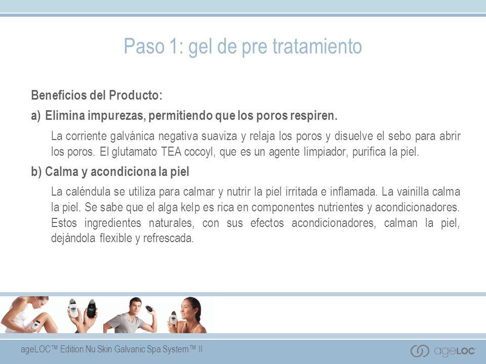Paso 1: gel de pre tratamiento