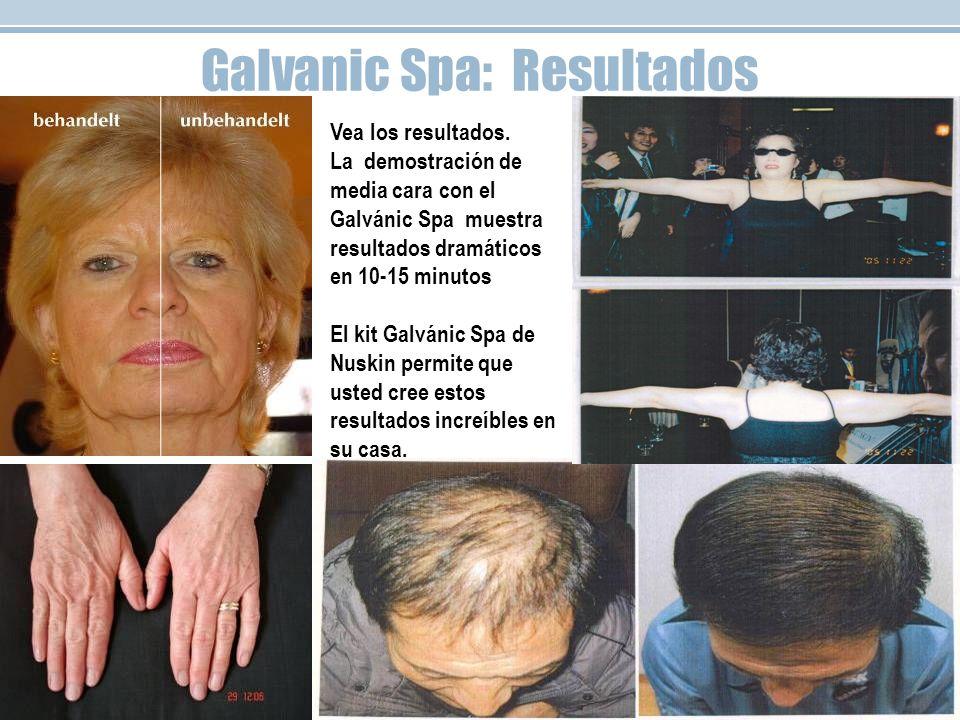 Galvanic Spa: Resultados