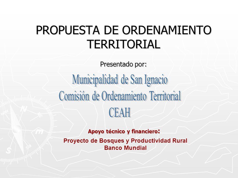 PROPUESTA DE ORDENAMIENTO TERRITORIAL