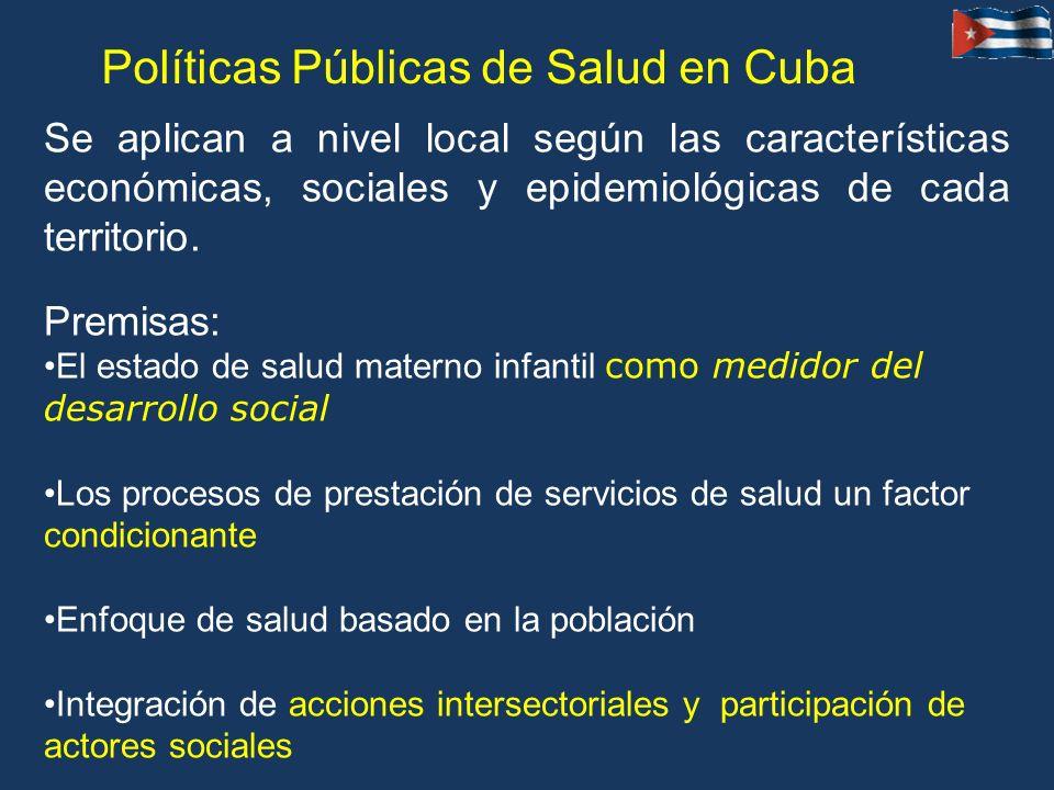 Políticas Públicas de Salud en Cuba