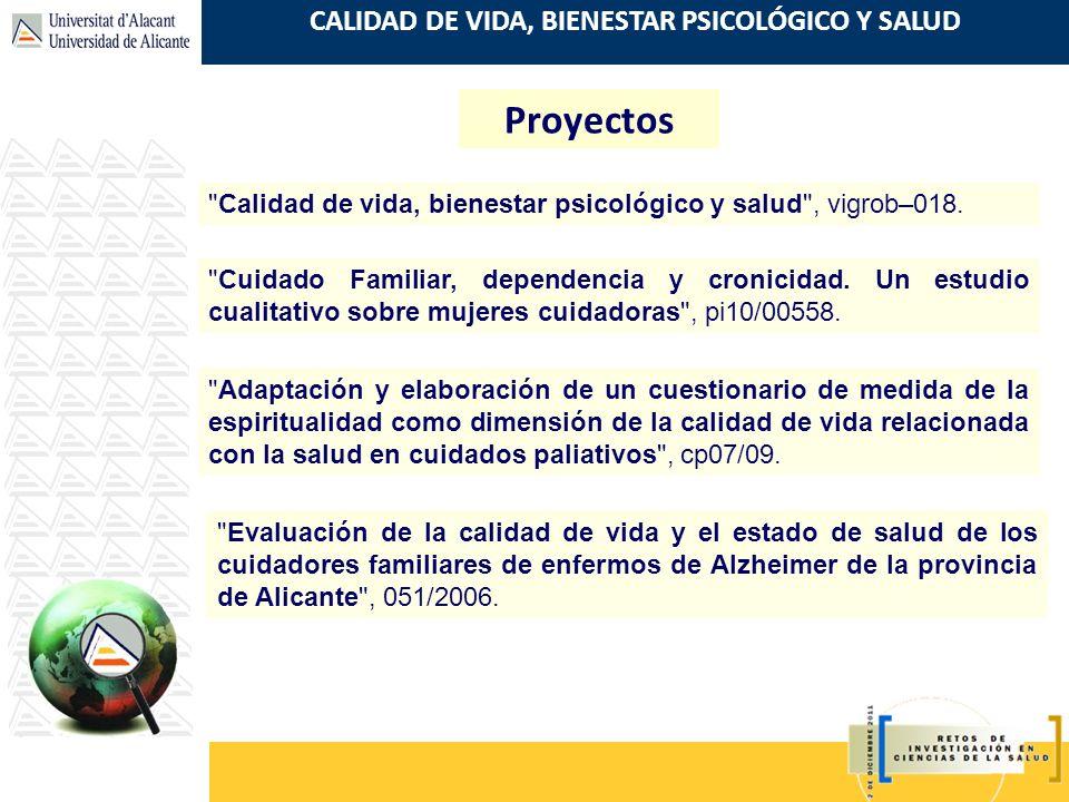Proyectos Calidad de vida, bienestar psicológico y salud , vigrob–018.
