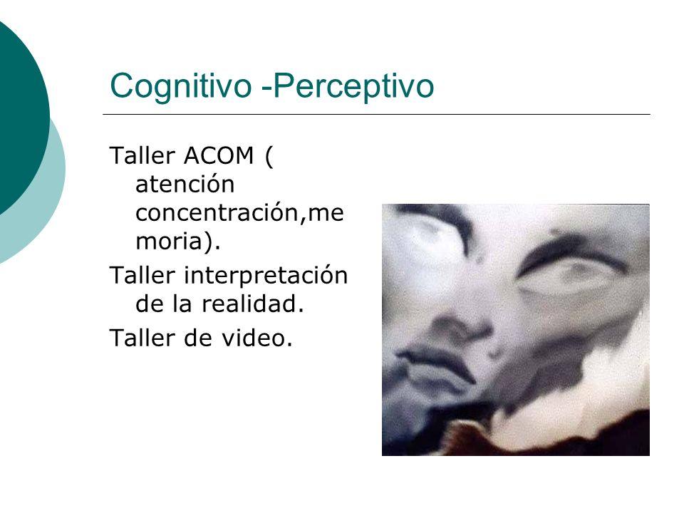Cognitivo -Perceptivo