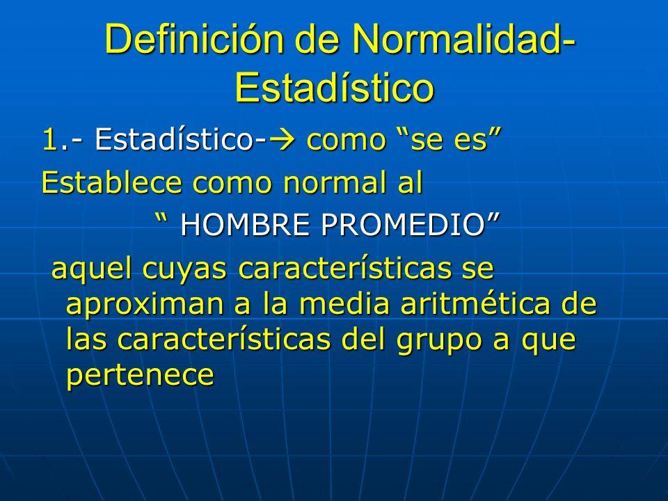 Definición de Normalidad-Estadístico