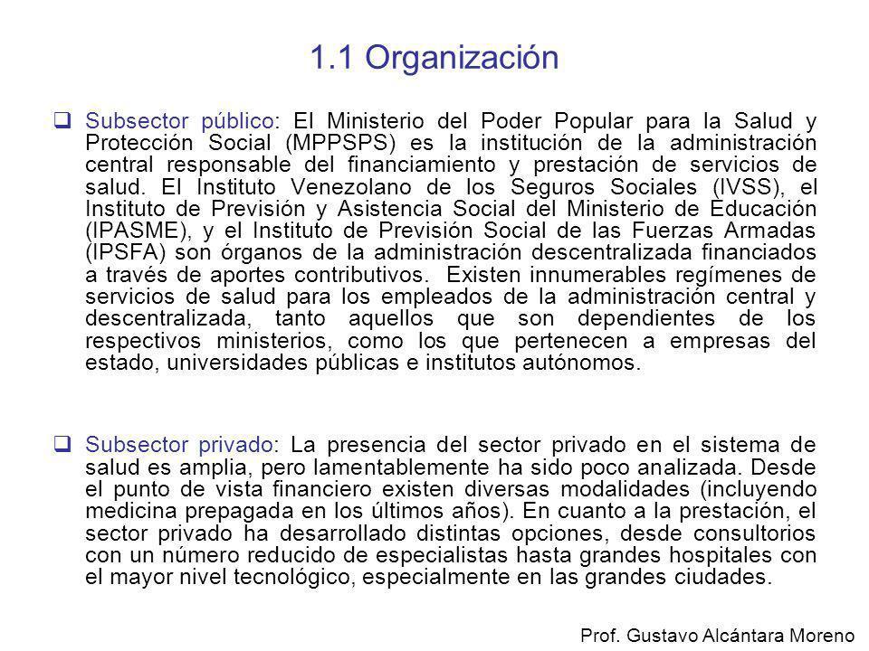 1.1 Organización