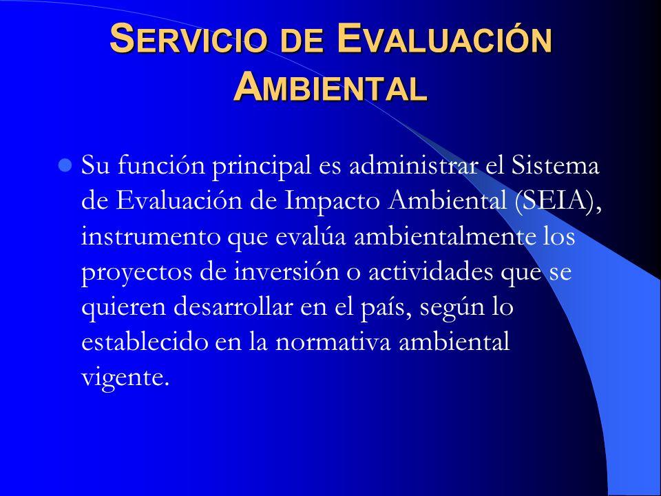 Servicio de Evaluación Ambiental