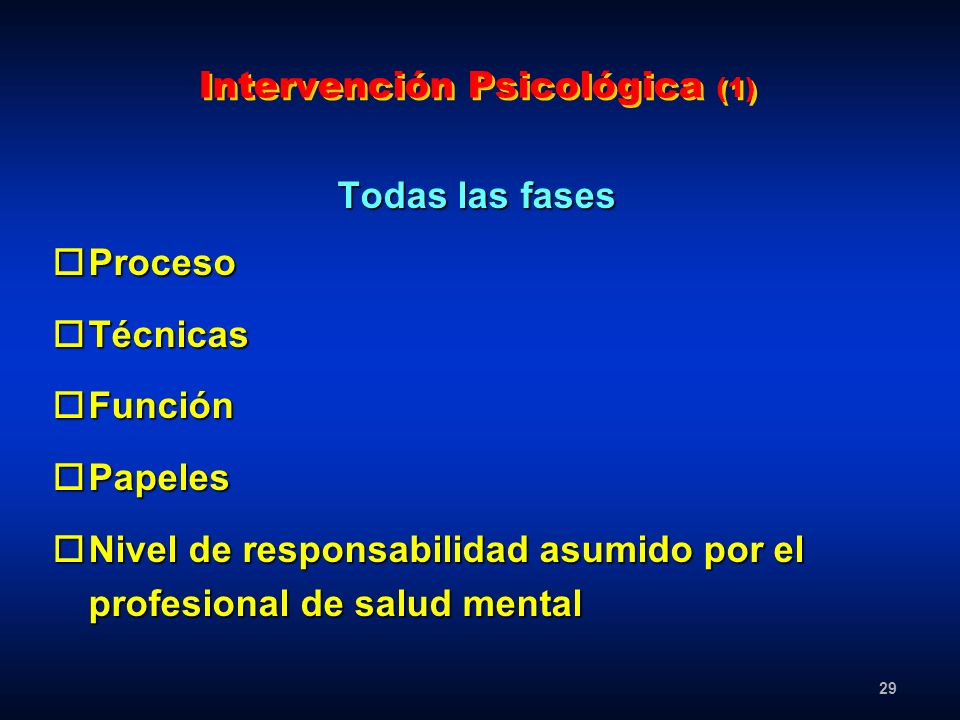 Intervención Psicológica (1)