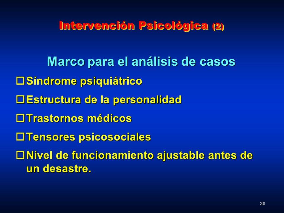 Intervención Psicológica (2)