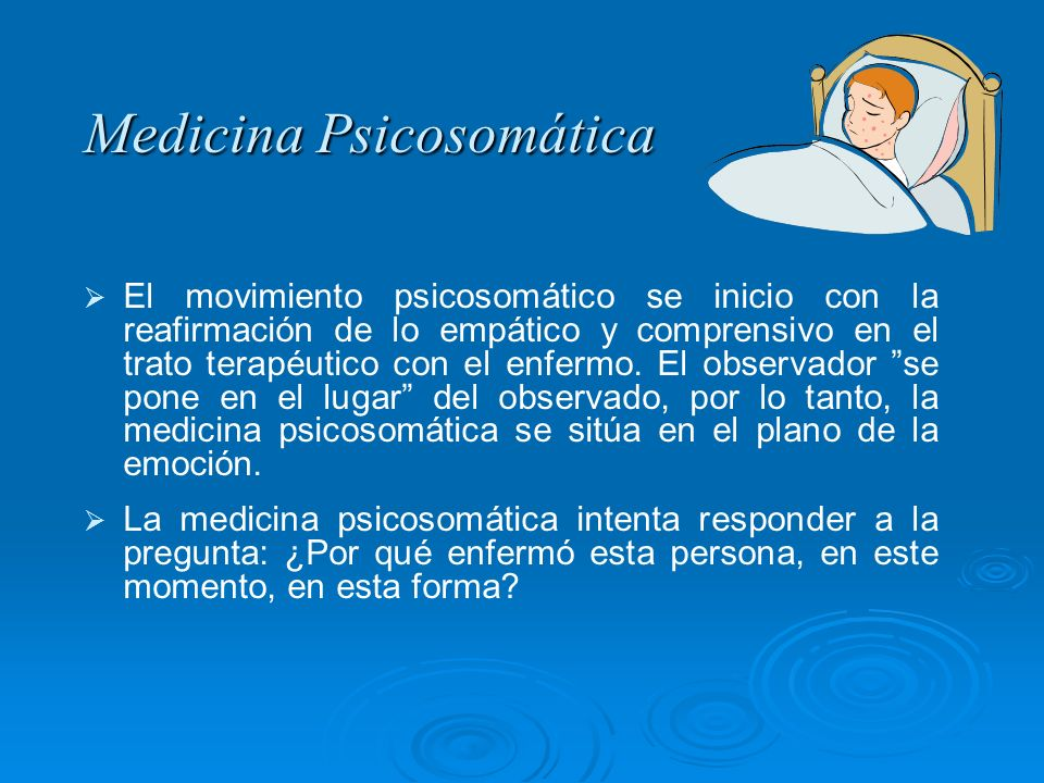 Medicina Psicosomática