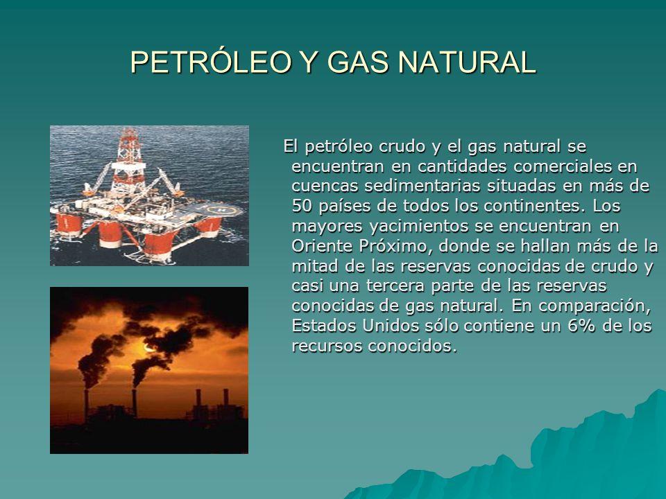 PETRÓLEO Y GAS NATURAL