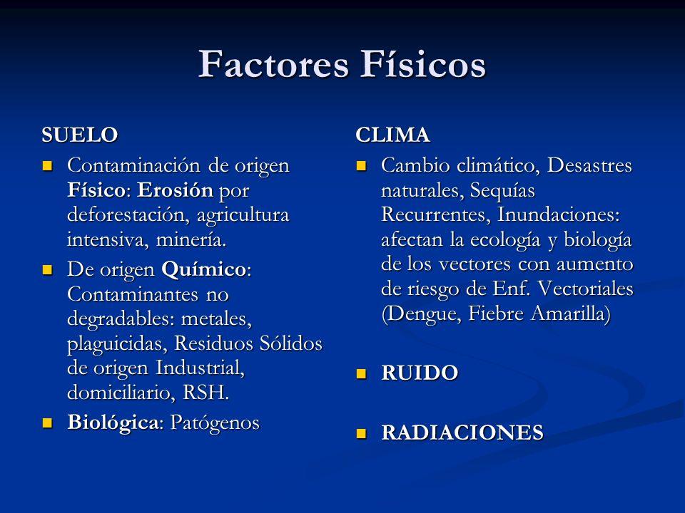 Factores Físicos SUELO