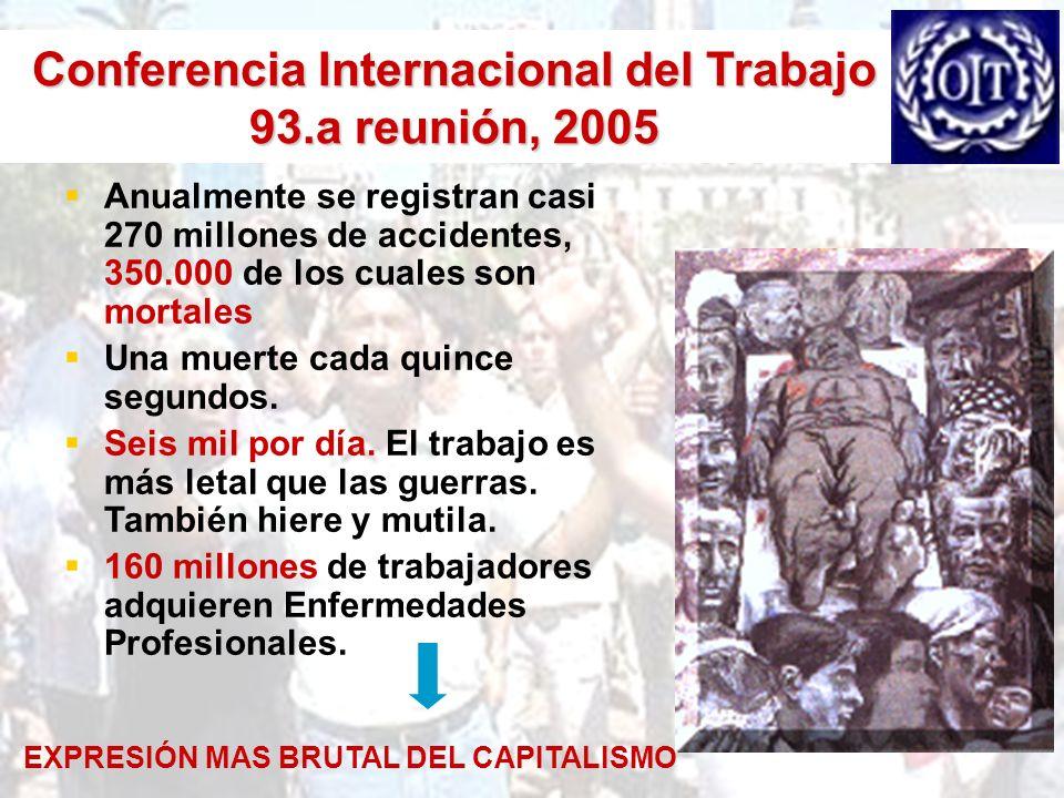 Conferencia Internacional del Trabajo 93.a reunión, 2005