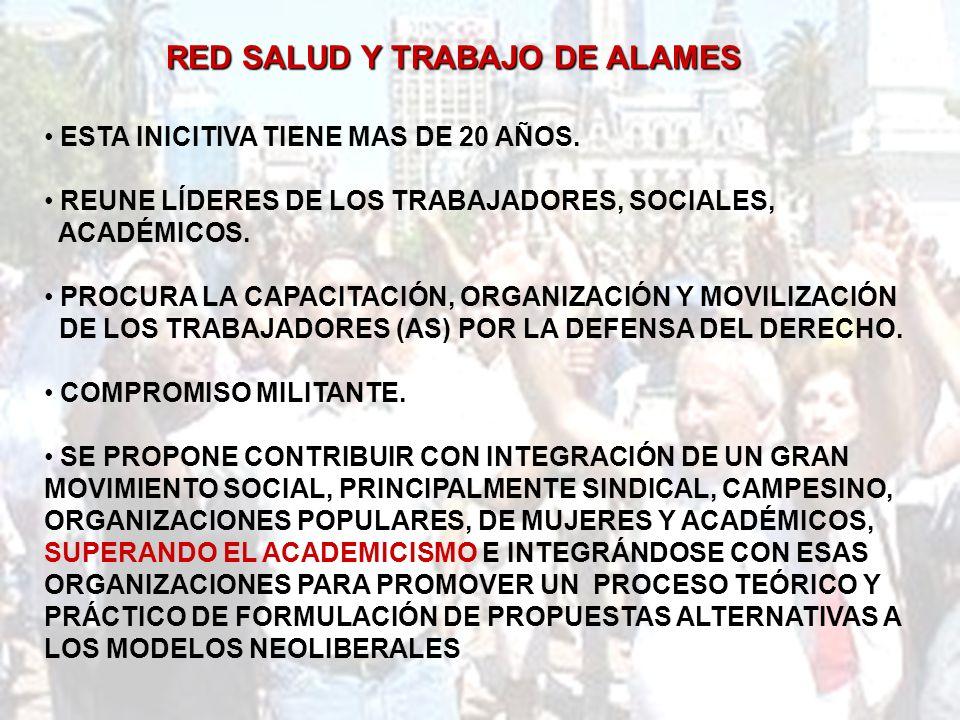 RED SALUD Y TRABAJO DE ALAMES