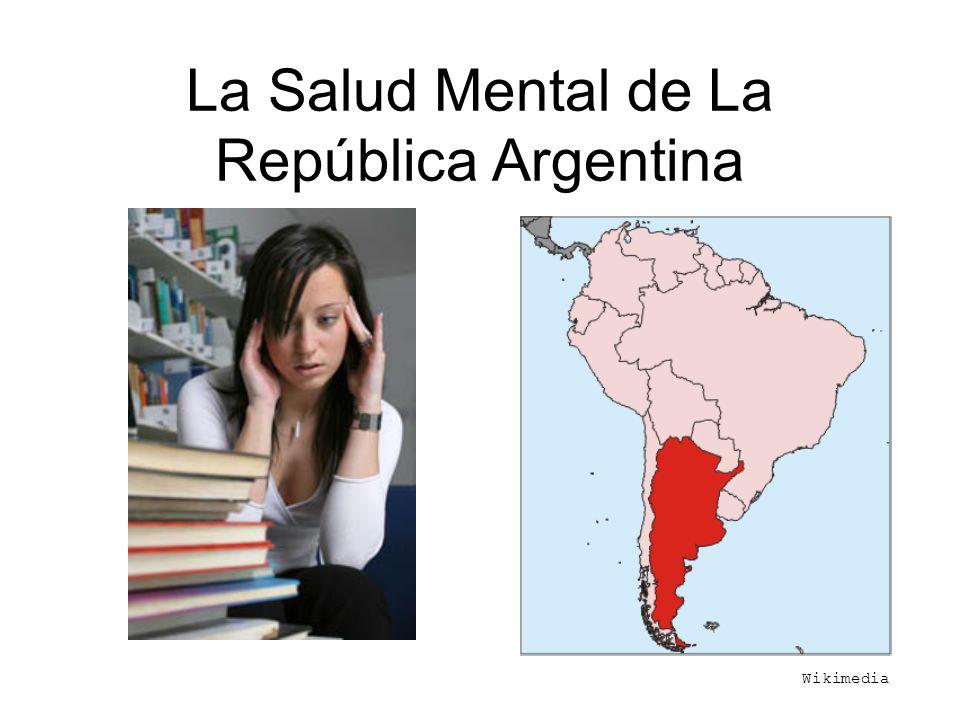 La Salud Mental de La República Argentina
