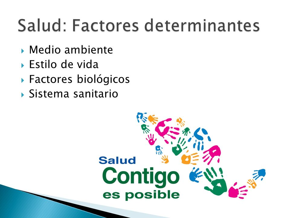 Salud: Factores determinantes
