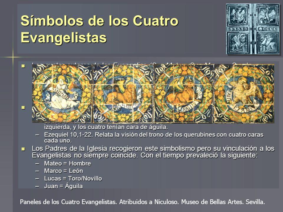 Símbolos de los Cuatro Evangelistas