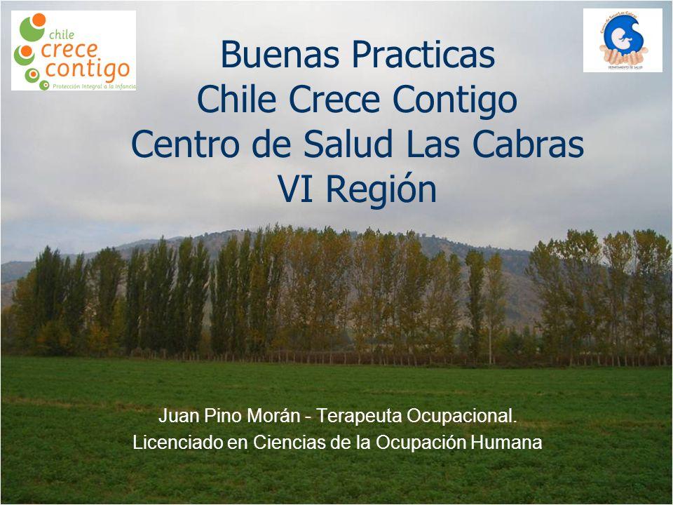 Buenas Practicas Chile Crece Contigo Centro de Salud Las Cabras VI Región